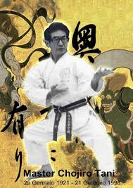 Master Chojiro Tani
